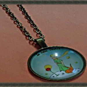 Antique Design The Little Prince Necklace Unisex